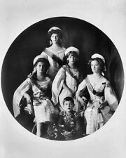 New 8x10 Photo: Romanov Children of Nicholas II, Last Tsar of Russia