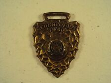 Schenectady N.Y. American Legion Antique Watch Fob / 1940 / Arrow Head