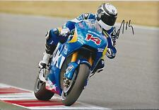 Randy De Puniet Autograph ASPAR Racing Team APRILIA SIGNED 12x8 Photo AFTAL COA