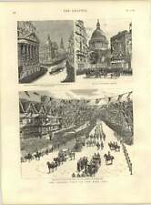 1887 Queen Visits East End City Boundary Holborn Bars
