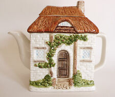 Vintage OTAGIRI Ceramic Hand Crafted House 'Cottage' Tea Pot/Teapot  JAPAN