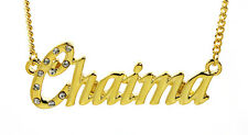 18K Gold Plated Necklace With Name CHAIMA - Nekless Birthday Best Friend Gifts