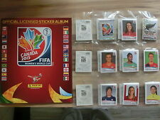 PANINI WORLD CUP WOMEN 2015 * KOMPLETTSET LEERALBUM ** LOOSE SET EMPTY ALBUM