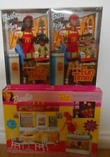 Barbie Mattel Fun Time McDonalds Restaurant Playset With 2 Dolls Brand New NRFB