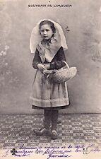 LIMOUSIN 197 souvenir du bébé barbichet timbrée 1904