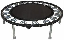 Needak Rebounder FOLDING BLACK / Blue mini-trampoline MADE IN AMERICA Dr Mercola