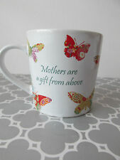 NEW Patchwork Butterflies Mother's Day Inspiration Oversized Coffee Mug Cup