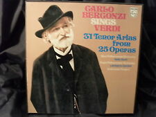 Carlo Bergonzi sings Verdi / 31 Tenor Arias from 25 Operas   3 LP-Box