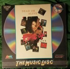 """DEAD OR ALIVE/Pete Burns  LASER DISC """"Rip It Up: Live"""" American release."""