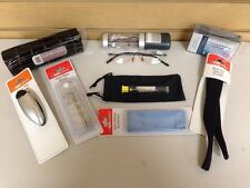 2 Private Eyes Comfort Flex Reading Glasses & Accessories Pack 131 1.75  New