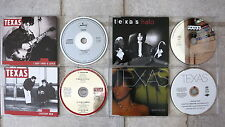 TEXAS  4 x Maxi CD → Halo, Everyday now,  I don't want a lover,  Summer day topp