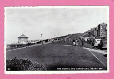 Dated 1962. The Downs and Bandstand, Herne Bay, Kent.
