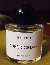 Super Cedar by BYREDO 100 ml/ 3.3oz Eau de Parfum Spray *Tester