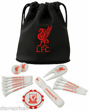 LIVERPOOL FC TOTE BAG GIFT SET. GOLF ACCESSORIES.