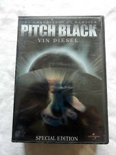 The Chronicles of Riddick PITCH BLACK Vin Diesel Film DVD Special edition