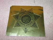 Shawnee County KS Sheriff's Office Junior Deputy Sticker