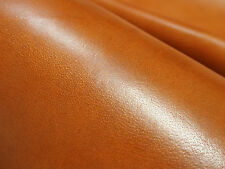 "1PC LIGHT BROWN BUFFALO HIDE VEG TAN LEATHER 13""x 10"" THICK 1.5MM FREE SHIPPING"