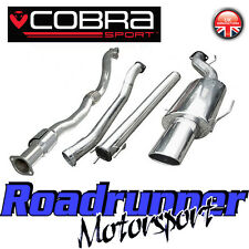 "VZ10b Cobra Astra Coupe 2.0 MK4 3"" Turbo Back Exhaust System NonRes & Sports Cat"