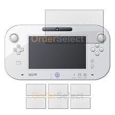 """6X Anti-Scratch Clear LCD Screen Guard Protector for Nintendo Wii U GamePad 6.2"""""""