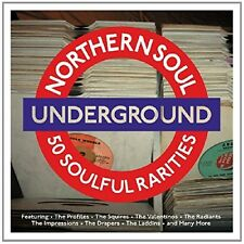 NORTHERN SOUL UNDERGROUND  2 CD NEU RAY CHARLES/EARL KING/THE PROFILES/+