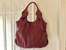 Matt and Nat burgundy bag vegan leather maroon Matt by Matt & Nat large handbag