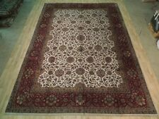 VERY FINE Hand Knotted Silky Agra Wool pile Delightful10' x 14' Area Rug