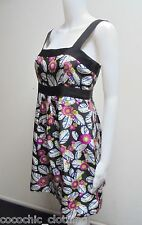 SABA-Silk Print Dress-Size 10