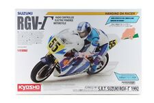 Kyosho 34931 1/8 Scale EP RC Bike Motorcycle Hanging On Racer Kit SUZUKI RGV-Γ