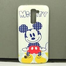 For LG K10 Mickey Phone Case Cover Free Screen Protector