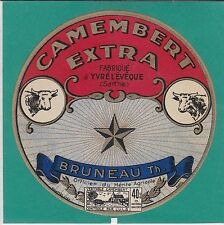 I968 FROMAGE CAMEMBERT BRUNEAU OFFICIER MERITE AGRICOLE  YVRE L EVEQUE SARTHE