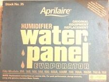3 PACK Aprilaire #35 Humidifier Water Panel fits #'s 600, 600A and 600M OEM 35