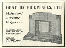 1953 Grafton Fireplaces Park Lane Stoke-on-trent Ad