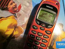 Nokia 6150 OVP rot Metallic Heft in D Lader SIMfrei gebraucht Art. 83 X