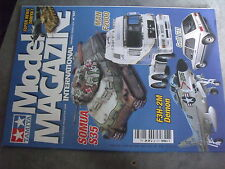 $$p Revue Tamiya Model Magazine N°137 Somua S35  Man F2000  F3H-2M Demon  Golf