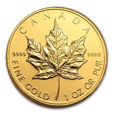 2001 Canada 1 oz Gold Maple Leaf BU - SKU #63271