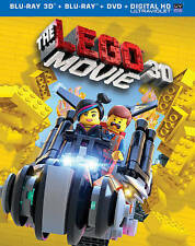 The Lego Movie - BLU-RAY 3D  and blu ray