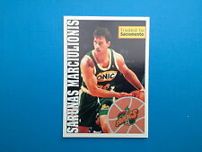 1995-96 Panini NBA Basketball Sticker N.265 Marciulionis Seattle SuperSonics