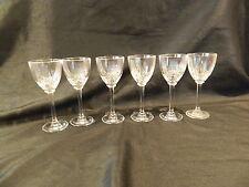 ROYAL CRYSTAL ROCK RCR MAGNOLIA LIQUEUR GLASSES