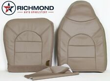 2000 Ford F250 F350 Lariat -DRIVER Side COMPLETE Leather Seat Covers TAN