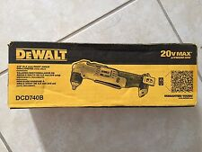 "DEWALT DCD740B 20-Volt MAX Li-Ion 3/8"" Right Angle Drill   TOOL ONLY NEW IN BOX"