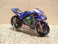 1:18 2015 MONSTER FACTORY YAMAHA YZR-M1 DIECAST TOY MODEL VALENTINO ROSSI #46