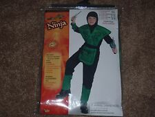 Green Dragon Ninja Warrior Costume by Forum  Size 12-14