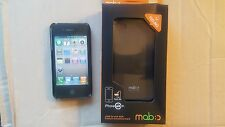 Ultra Thin Black Hard Plastic Case Cover For iphone 4 iphone 4S 1pc MOBC