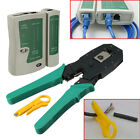 RJ45 RJ11 RJ12 CAT5 LAN Network Cable Tester Crimper Stripper Tool Kit
