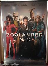 Cinema Banner: ZOOLANDER NO 2 2016 (Main & Mugatu) Ben Stiller Will Ferrell