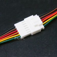 1pcs Small 6pin terminal lead wire harness - Jack and Plug 6 Pin Wire & Socket