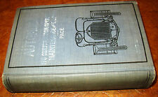 1920 Book Modern Gas Automobile Tractors Cyclecar Electric Trucks Ford Model T