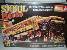 Monograma 1/24 s`cool Bus Dragster, Retro, Tom Daniel's Kit plástico