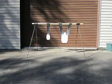 Steel Rebar Target Stand for hanging AR500 Steel and other targets