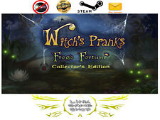 Witch's Pranks: Frog's Fortune Collector's Edition PC & Mac Digital STEAM KEY